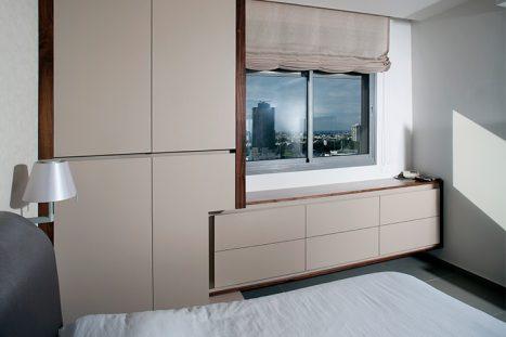 שידת מגרות וארון לחדר השינה בהתאמה אישית בסגנון מודרני